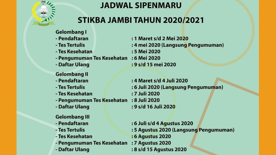 JADWAL SPINMARU 2020/2021